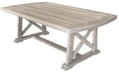 Driftwood Teak Surf Side Outdoor Coffee Table