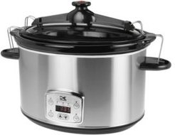 8 Qt. Digital Slow Cooker with Locking Lid