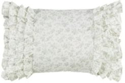 Harper Green Breakfast Pillow Bedding