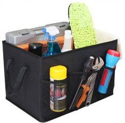 Foldable Trunk Organizer with Cooler