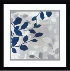 Leaves In The Mist Ii Framed Art Print