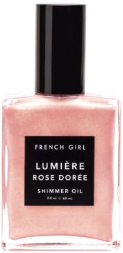 Lumiere Rose Doree Shimmer Oil, 2-oz.