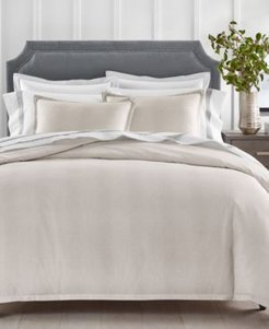 Sleep Luxe Cotton 800-Thread Count 2-Pc. Printed Pebble Twin Comforter Set, Created For Macy's Bedding