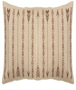 Long Rectangles and Arrows 15x35 Burlap Pillow Bedding
