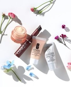 4 pc. Clinique Travel Set, only $10 with any beauty purchase (over a $40 value!)