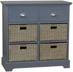 Newport Two Drawer Four Basket Table