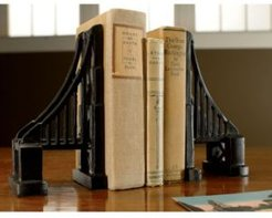 Kindwer Set of Cast Iron Bridge Bookends