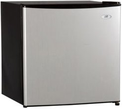 Spt 1.6 Cubic feet Compace Refrigerator with Energy Star - Stainless Steel