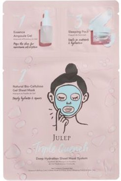 Triple Quench Deep Hydration Sheet Mask System
