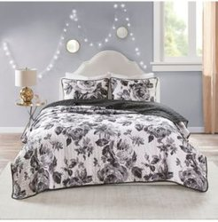 Dorsey Twin/Twin Xl 2-Pc. Reversible Printed Coverlet Set Bedding