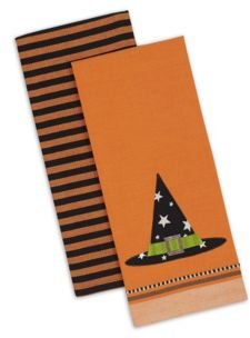 Witch Hat Dishtowel Set