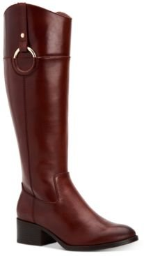 Bexleyy Riding Leather Boots, Created for Macy's Women's Shoes