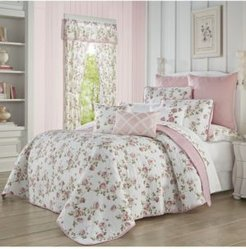 Rosemary Rose King 3 Piece Quilt Set Bedding