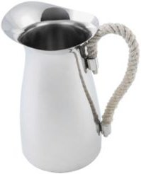 Stainless Steel Pitcher with Rope Handle