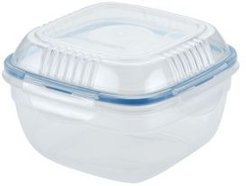 Easy Essentials 32-Oz. On the Go Meals Salad Bowl with Tray