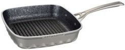 """Die Cast Aluminum Square Grill Pan with Induction Bottom 10"""" x 10"""""""