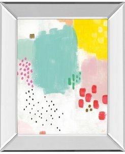 """Dots and Colors-Mattie by Joelle Wehkamp Mirror Framed Print Wall Art, 22"""" x 26"""""""