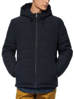 Claxton Packable Down Hooded Jacket