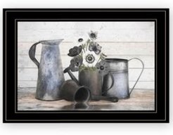"Floral Farmhouse I by Robin-Lee Vieira, Ready to hang Framed Print, Black Frame, 21"" x 15"""