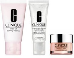 Choose your Free Skincare Trio with any $75 Clinique Purchase!