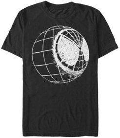 Spider-Man Far From Home Web Mask Globe, Short Sleeve T-shirt