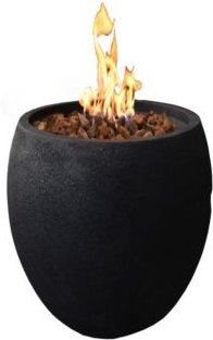 """27"""" York Outdoor Fire Pit Bowl Natural Gas"""