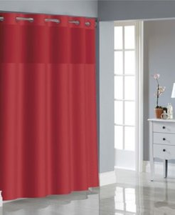 Basketweave Shower Curtain with Peva Liner Bedding