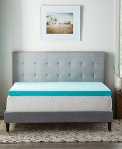 "Dream Collection by Lucid 3"" Gel Foam Mattress Topper, California King"