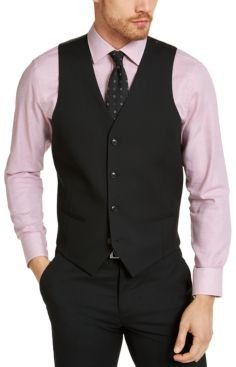 Slim-Fit Stretch Solid Suit Vest, Created for Macy's