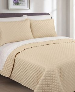 Palazzo 3 Piece Cotton King Quilt Set Bedding
