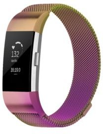 Unisex Fitbit Charge 2 Assorted Stainless Steel Watch Replacement Band