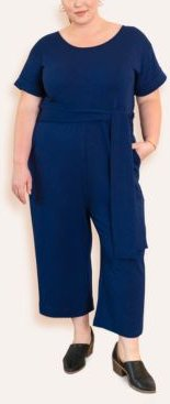 Plus Size Signature French Terry Jumpsuit