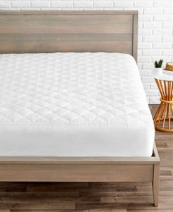 Quilted Fitted Mattress Pad, Twin