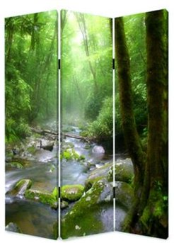 Double sided with different Design 3 Panel 6' Meadows And Streams Screen