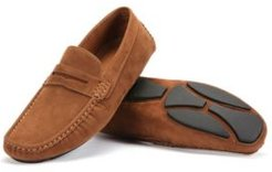 Suede Loafers Men's Shoes