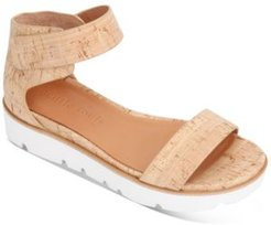 by Kenneth Cole Women's Lavern Easy Strap Platform Sandals Women's Shoes