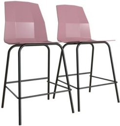 by Cosmopolitan Riley Molded Counter Stool