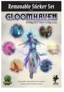 Gloomhaven Removable Sticker Set- Forgotten Circles Licensed Gloomhaven Accessory