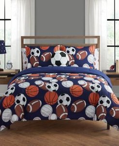 Play All Day Twin 5 Piece Comforter Set Bedding