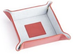 Suede Lined Catchall Valet Tray