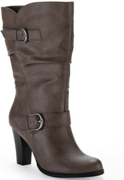 Sachi Block-Heel Mid-Shaft Boots, Created for Macy's Women's Shoes