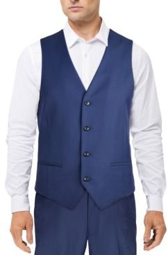 Classic-Fit Stretch Solid Suit Vest, Created for Macy's