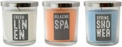 LumaBase Scented Candles - Fresh Collection - Set of 3