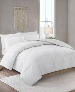 Lightweight Down Fiber Comforter with Cotton Cover, Full/Queen