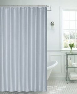 """Waffle Weave Shower Curtain, 70"""" W x 72"""" L Bedding"""
