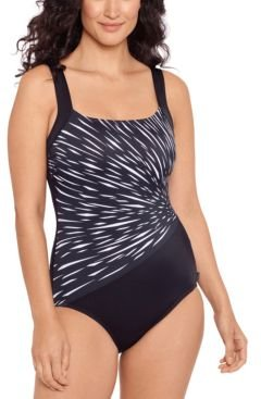 Glass Cutter Printed One-Piece Swimsuit Women's Swimsuit