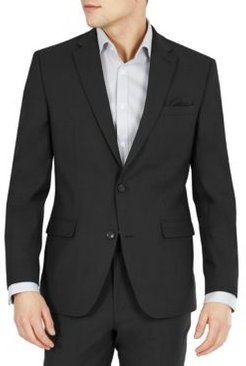 Slim-Fit Solid Wool Suit Jacket, Created for Macy's