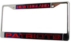 New England Patriots Laser License Plate Frame