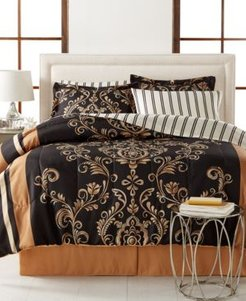 Sabrina Reversible 8-Piece King Bedding Set Bedding