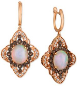 Crazy Collection Multi-Gemstone Drop Earrings (5-7/8 ct. t.w.) in 14k Rose Gold